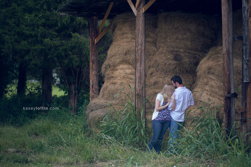 Engagement Photography at a Huntersville, NC Farm